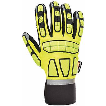 Portwest - Safety Impact Glove Unlined One Pair Pack