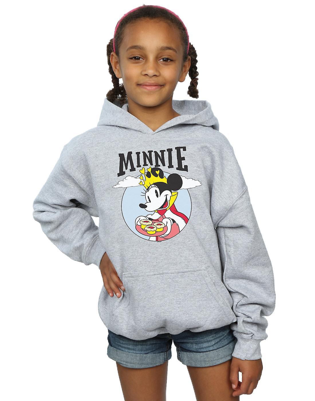Disney Girls Minnie Mouse Queen Hoodie
