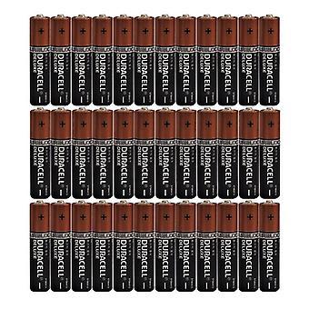 36 x AAA Duracell Duralock Deluxe Alkaline Batterien LR03, MX2400, MN2400