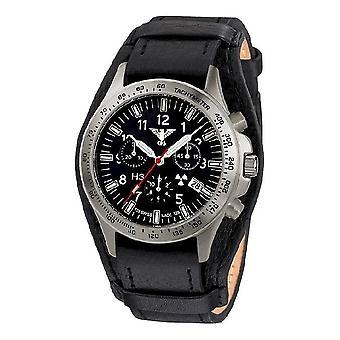 שעונים מחלקה של השעון של הגברים טיטאן הכרונוגרף. Ptc. r