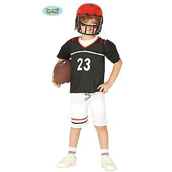 Fantasia de jogador de futebol para atletas crianças carnaval o quarterback