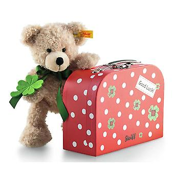 Steiff Fynn ursuleț de pluș cu valiza 24 cm