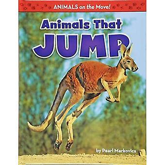 Dieren die springen