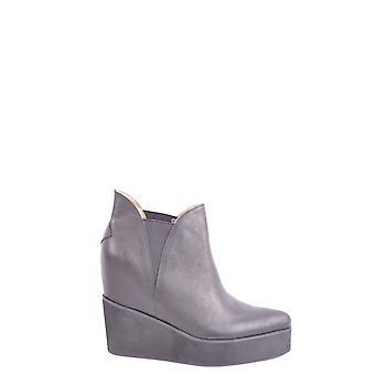 Jeffrey Campbell Ezbc132029 Dames's Black Leather Ankle Boots