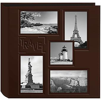 Pioneer 5-Up Sewn Embossed Collage Frame Photo Album 12