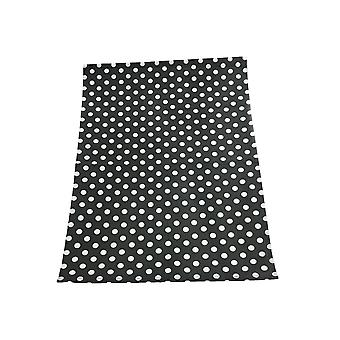 Dexam Polka Tea Towel, Charcoal