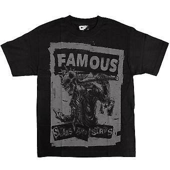 Famous Stars and Straps My Rules T-shirt Black Grey