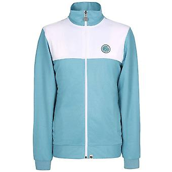 PRETTY GREEN Light Blue Zip Through Track Top