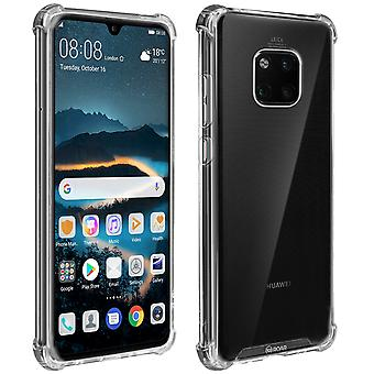 Huawei Mate 20 Pro Rigid Silicone Reinforced Edges Roar Transparent