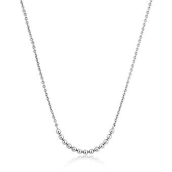 Ania Haie Sterling Argent 'Modern Minimalism' Multi Ball Necklace