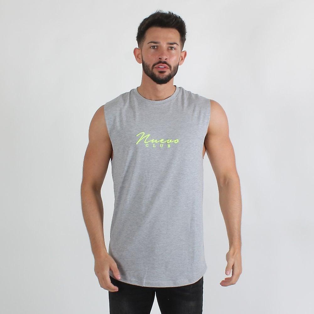 Nuevo Club Signature Sleeveless - Grey/fluorescent