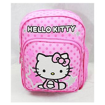 Mini Backpack Hello Kitty Pink Stars & Dot School Bag Book Girls 81404