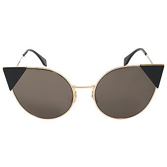 Fendi Lei Round Sunglasses FF0190S 000 2M 57