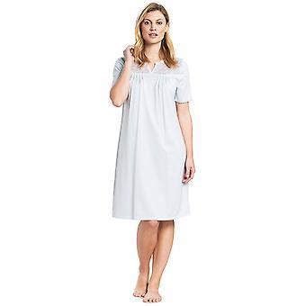 Feraud 3191104 Women's High Class Cotton Night Gown Nightdress