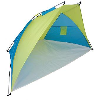 Yellowstone 1 Man Beach Camping Shelter Tent Blue/Lime