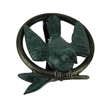 Vogel op tak Ring decoratieve deur Knocker