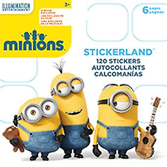 Mini Stickerland Pad - Minions - 6 pages Toys Stationery New st5183