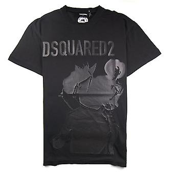 Dsquared2 Cowboy T-Shirt Black