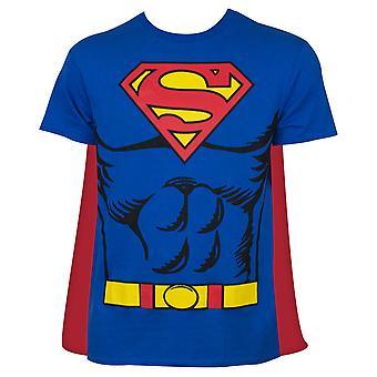 超人角服装T恤