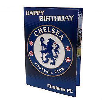 切尔西足球俱乐部音乐生日卡