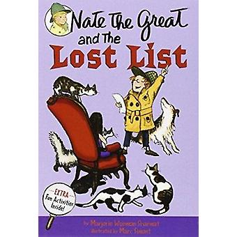 Nate The Great And The Lost List by Marjorie Weinman Sharmat - 978044