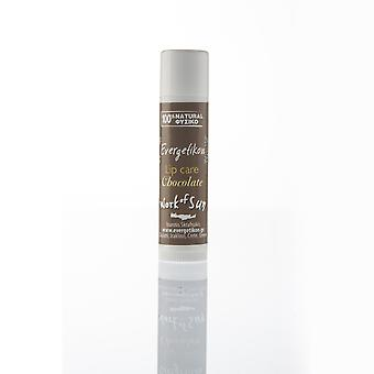Lip balm Chocolate, protects against dryness and softens.