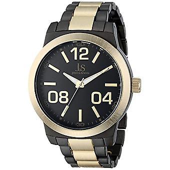 Joshua & Sons JS82TTG quartz wrist watch, Analog, male, alloy