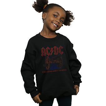AC/DC Girls For Those About To Rock Canon Sweatshirt