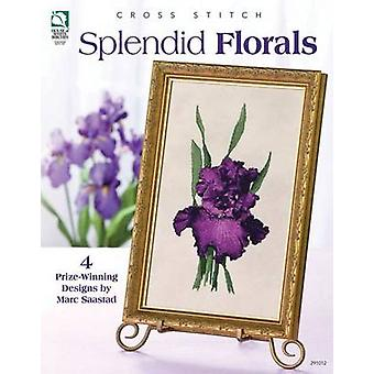 عبور الإبرة الرائع المزين بالأزهار بمارك ساستاد--كتاب 9781590122297