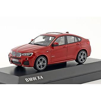 Modèles IXO Modèles BMW X4 F26 Melbourne Red 1:43 Modèle de concessionnaire