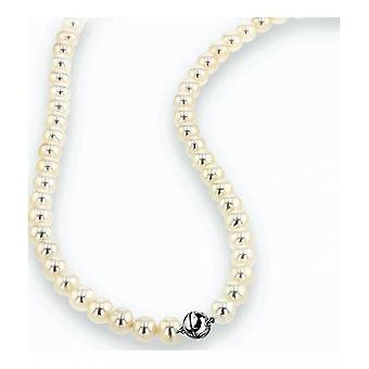 Luna-Pearls Pearl Collier Freshwater Pearls 6.5-7 mm 925 Silver Rhodiumplated 2035949