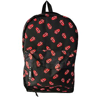 The Rolling Stones Backpack bag Classic Tongue Logo All Over Print Official