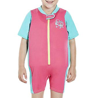 Speedo Girls Kids Sea Squad Swimming Swim Holiday Beach Pool Float Suit - Pink