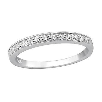 Presărat - 925 Sterling Silver Inele cu bijuterii - W15450x