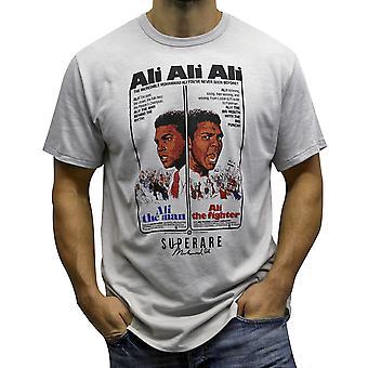 Superare x Ali The Fighter T-Shirt - Silver