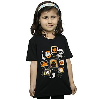 Star Wars Girls Day Of The Dead Memorial Wall T-Shirt