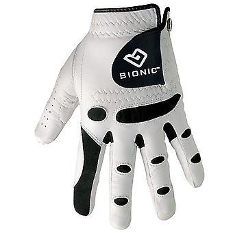 Bionic mens StableGrip lederen golf handschoenen orthopedisch-LH
