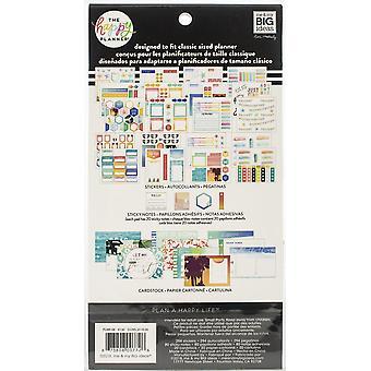 Gelukkig planner Notitiekaarten/Sticky Note multi pack-Beach Vibes, 394/pkg