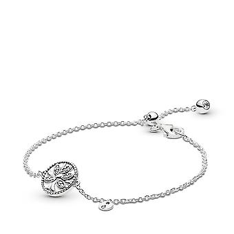 PANDORA Tree of Life 925 Sterling Silver Armband-Größe: 7.9 Zoll-775976CZ-20