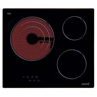 Sklo-keramická varná doska Cata TT 603 60 cm (3 priestory na varenie)