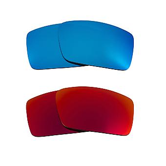 Polarized Replacement Lenses for Oakley Gascan S Sunglasses Anti-Scratch Anti-Glare UV400 by SeekOptics