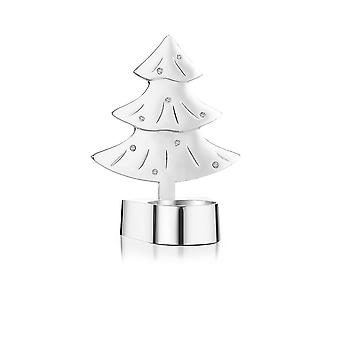 Newbridge Silverware Christmas Tree T-light Holder