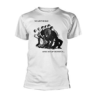 Madness One Step Beyond Suggs White Ska Official T-Shirt