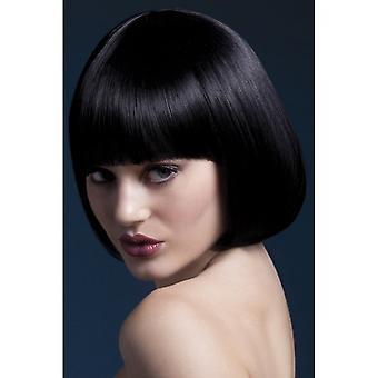 Smiffy's Fever Mia Wig - Black