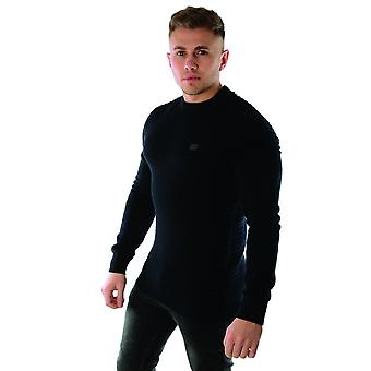 La police lait 6326 Ribbed Cable Knit Jumper
