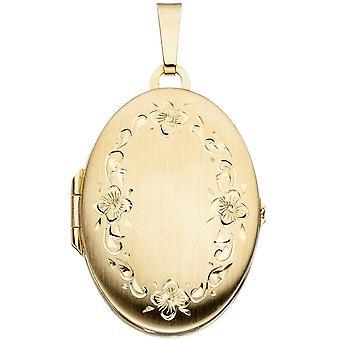 Medallion 333/g gold nostalgic Locket pendant gold