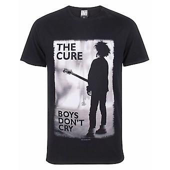 Amplified The Cure Boys Don&t Cry Men&s Band Tee T-Shirt