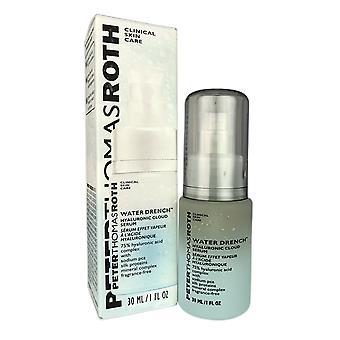 Peter Thomas roth vatten dränka hyaluroniskt moln ansikte serum hjälper återfukta huden 1 oz