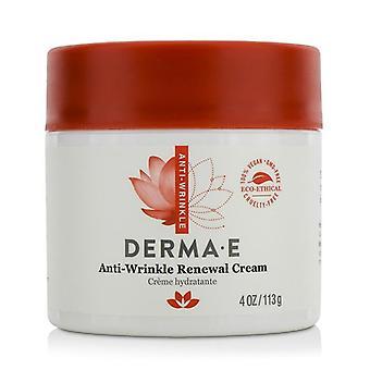 Derma E Anti-wrinkle Renewal Cream - 113g/4oz