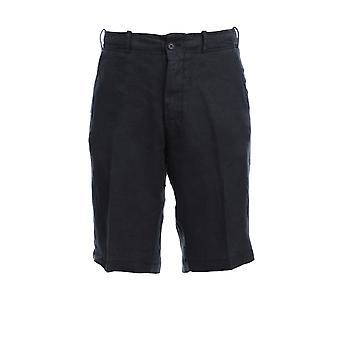 Corneliani 854ex60120184001 Men's Grey Linen Shorts